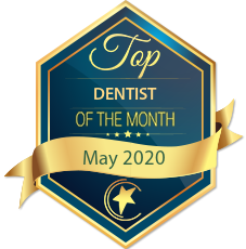 Top Dentist of the Month Desktop badge